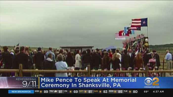 VP Pence Set To Speak At Shanksville Memorial Ceremony