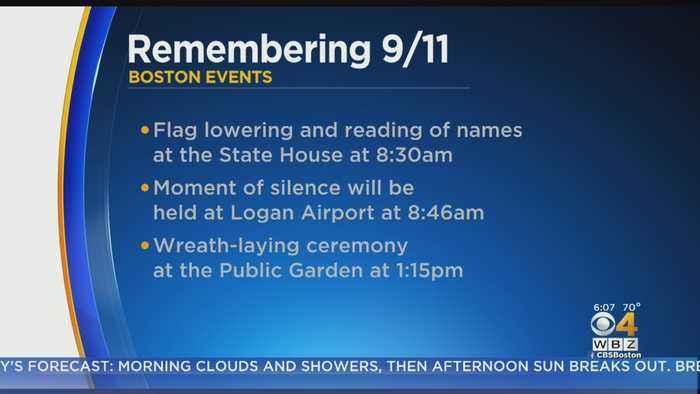 Massachusetts Marks 18th Anniversary Of 9/11 Terrorist Attacks