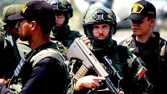 Venezuela holds anti-invasion drills at border