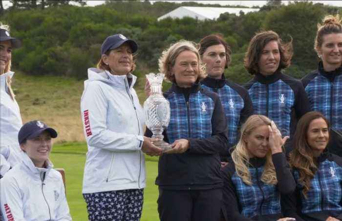 Lewis drops out of Solheim Cup with injury