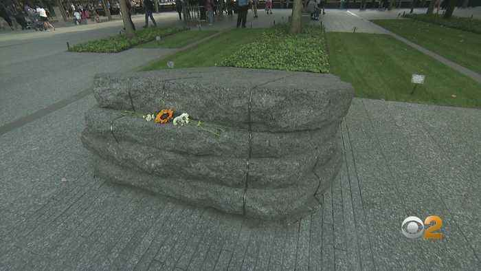 Moving Symbolism Fills The Glade At 9/11 Memorial Grounds