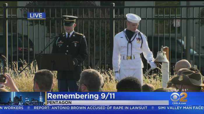 Americans Mark 18th Anniversary Of 9/11 Terrorist Attacks