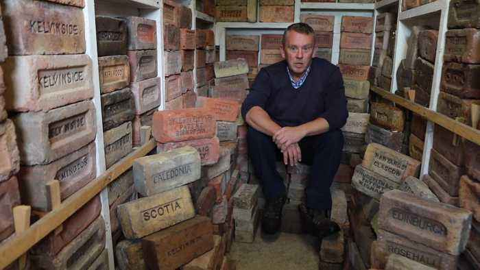 Meet the eccentric collector of 3,500 bricks