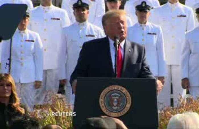 Trump recounts memories of 9/11