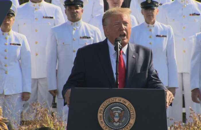 'Unrelenting weakness': Trump on Taliban