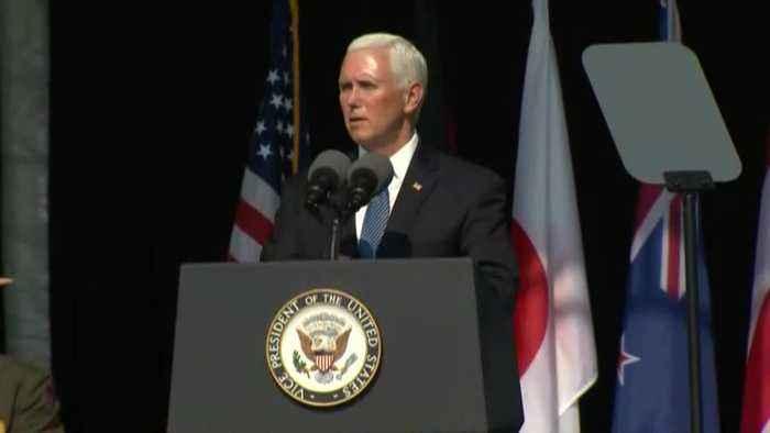 9/11 observance: Vice President Mike Pence speaks at Flight 93 memorial in Pennsylvania