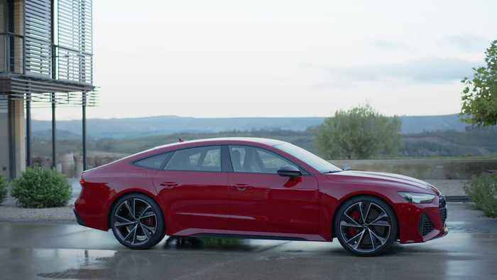 This is the new Audi RS 7 Sportback