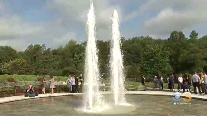 Hundreds Gather To Remember 9/11 Victims At Garden Of Reflection