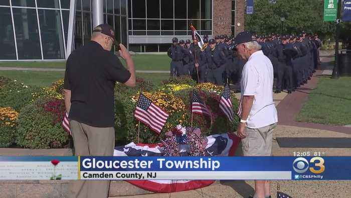 Wreath Laying Ceremony Held At Camden County College To Mark 9/11 Anniversary