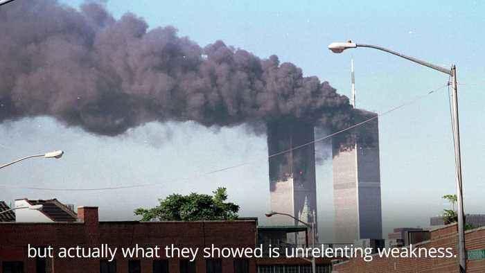 Donald Trump marks 18th anniversary of 9/11 terror attacks at the Pentagon