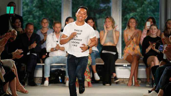 Designer Sends Powerful Message At NYFW