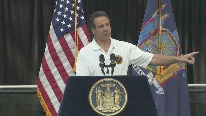 N.Y. Gov. Cuomo Signs Pension And Health Benefits To 9/11 First Responders, Volunteers, Workers
