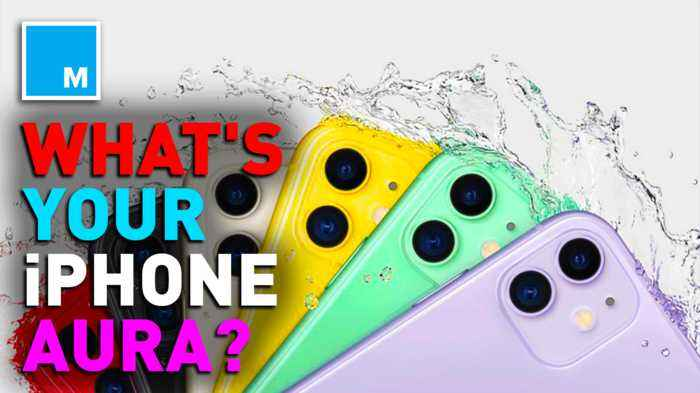 Here's what aura readers said about each new IPhone color, which one you should choose