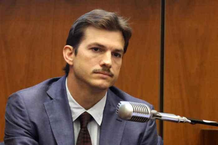 Ashton Kutcher breaks toe