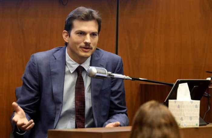 Ashton Kutcher blames Adele for his moustache