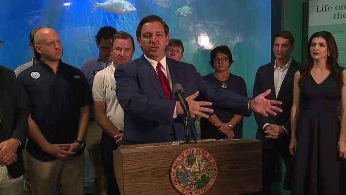 Press Conference: Gov. DeSantis announces increase in fines for polluting water