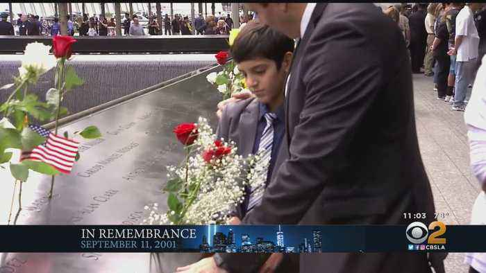 Americans Remember 18th Anniversary Of 9/11