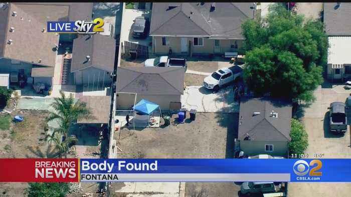 Man's Body Found In Fontana
