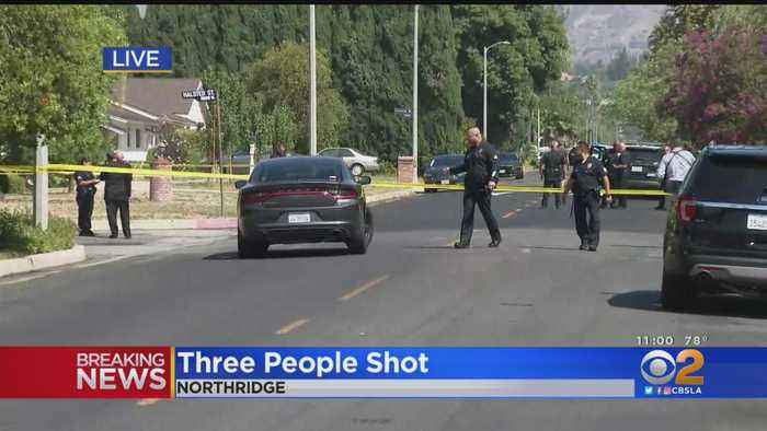 Three People Found Shot At Northridge House