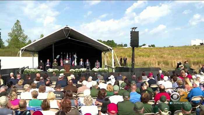 Vice President Marks 9/11 Anniversary In Shanksville
