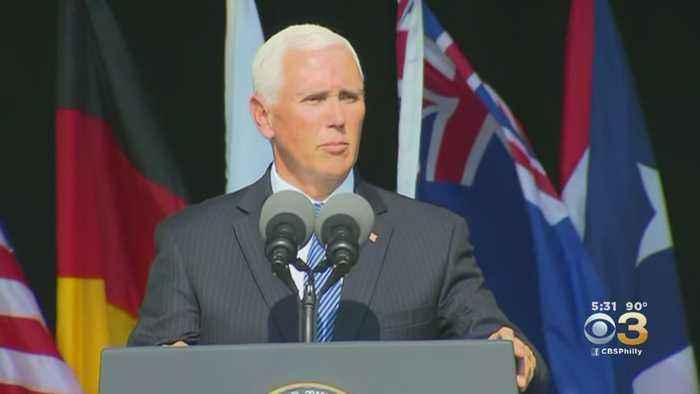 Vice President Mike Pence Speaks At Flight 93 Memorial In Pennsylvania