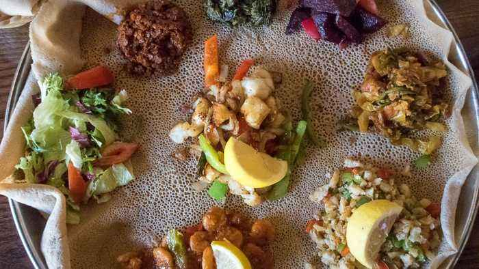Injera: A Bread That's A Plate