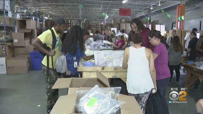 Volunteers Gather In Yonkers To Aid Hurricane Dorian Survivors