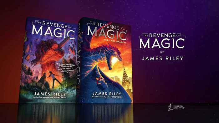 REVENGE OF MAGIC by James Riley