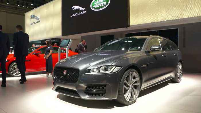 Jaguar Land Rover at Frankfurt IAA 2019