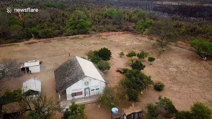 Raging forest fires devastate Bolivia's newest conservation area Nembi Guasu