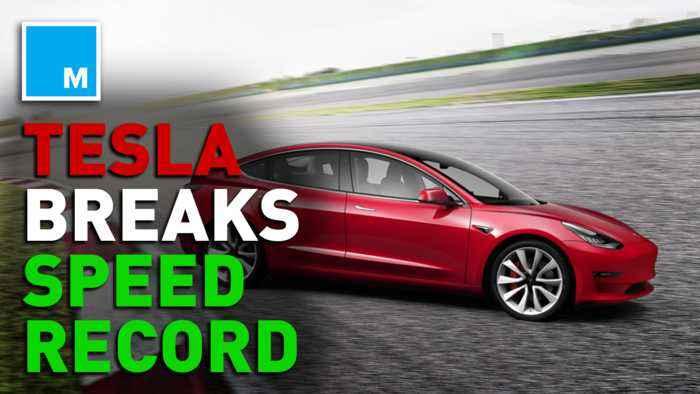 Tesla claims Model S sets fastest four-door record at Laguna Seca