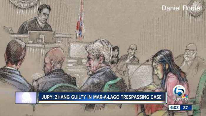 Chinese woman found guilty of trespassing at Mar-a-Lago