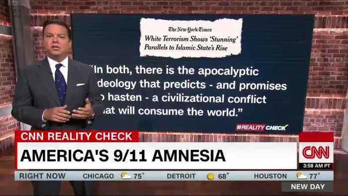 CNN claims right-wing terrorists are 'deadliest' on 9/11 anniversary