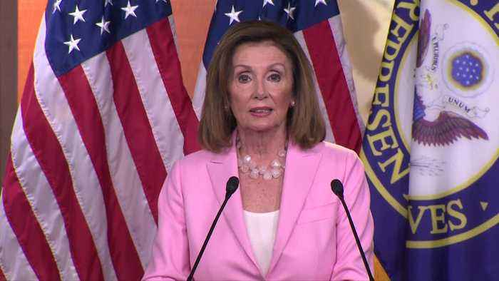 Pelosi stands firm on impeachment stance