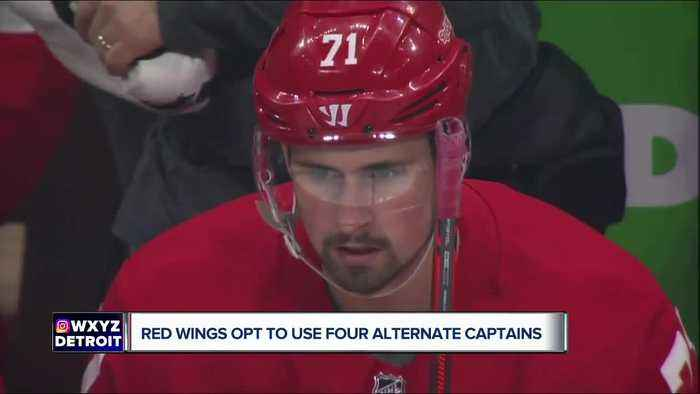 Red Wings opt to not name captain for 2019-20 season