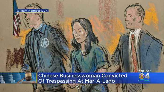 Chinese Businesswoman Convicted Of Trespassing At Mar-A-Lago
