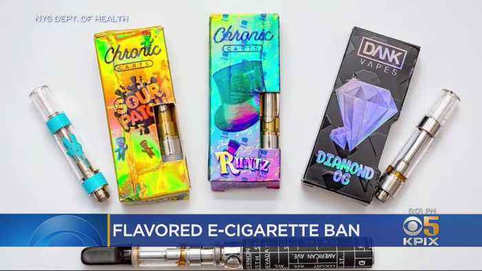 Bay Area Leaders Praise President's Announced Ban Of Flavored E-Cigarettes