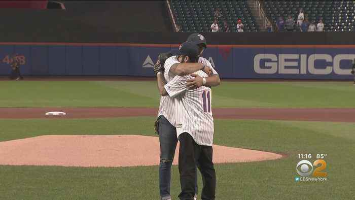 Mets Hold Emotional Tribute At Citi Field On 9/11