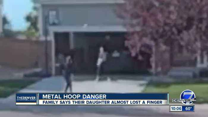 Highlands Ranch teen's finger impaled by metal chain basketball net