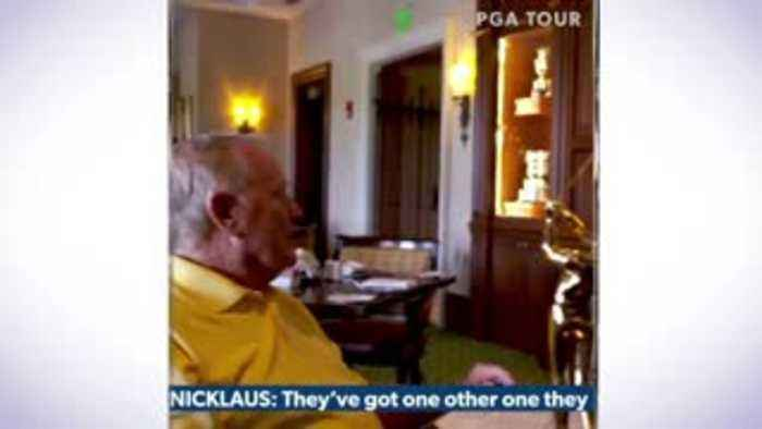 Nicklaus surprises Rory with award