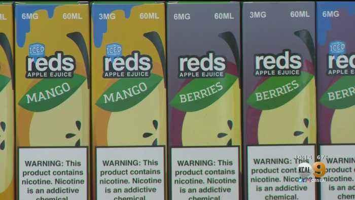 Officials Talk Vaping Dangers In Santa Clarita As Trump Announces Ban On Flavored Cartridges