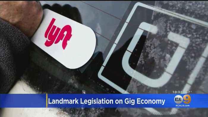 California Senate Passes Landmark Labor Bill That Would Impact Nearly 1 Million 'Gig Economy' Workers