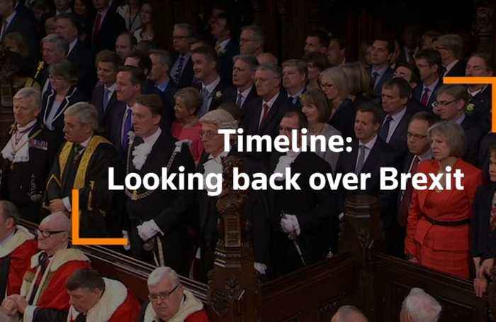 Timeline: Looking back over Brexit