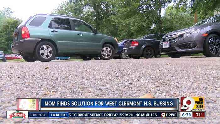 Mom finds solution for West Clermont H.S. bussing