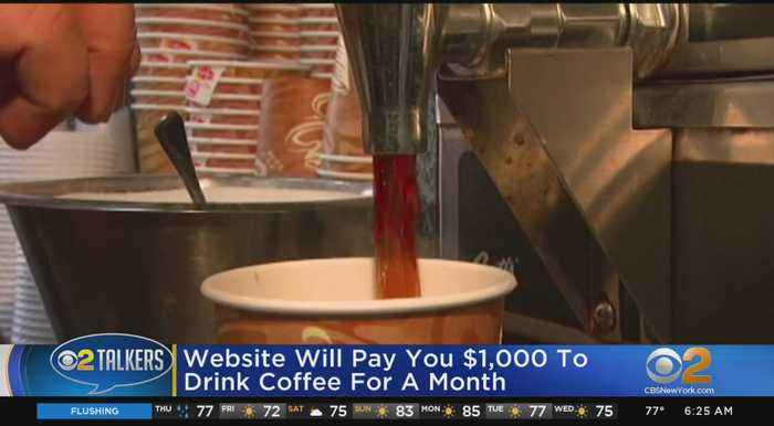 Get Paid To Drink Coffee