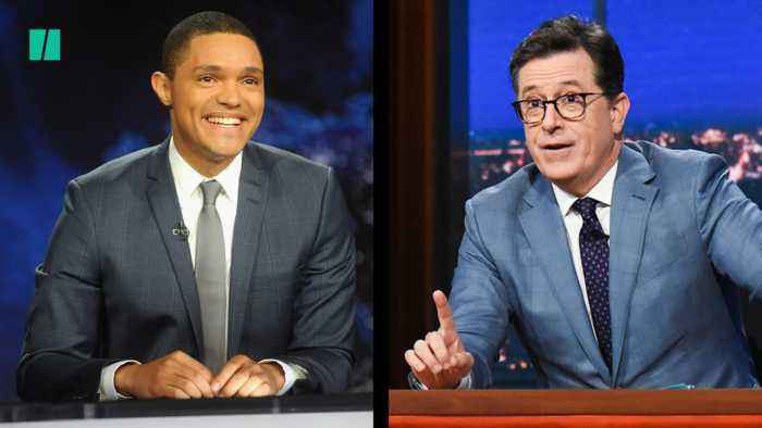 Late Night Hosts Mocks Trump For Forgetting Son