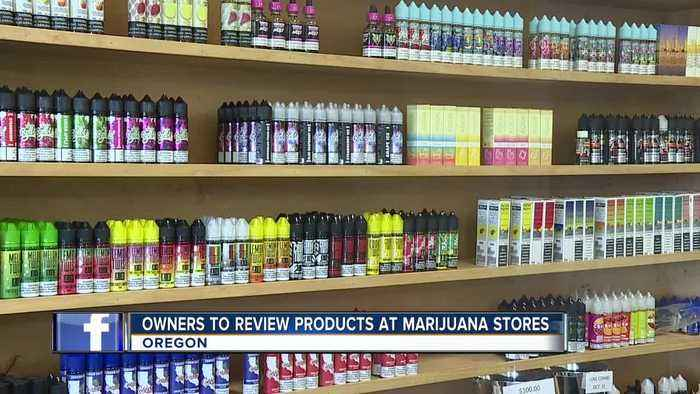 Oregon asks store owners to review vape products