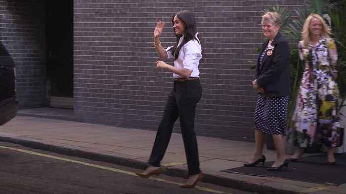 Meghan launches charity fashion range in London