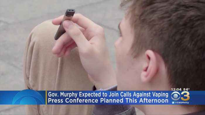 Gov. Phil Murphy Expected To Join Calls Against Vaping