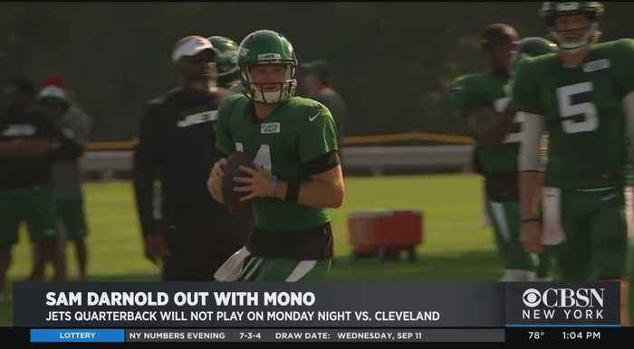 Jets' Darnold Out With Mono